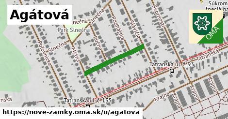ilustrácia k Agátová, Nové Zámky - 215m