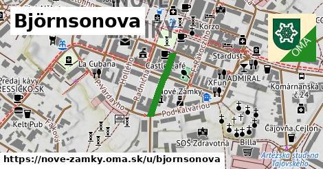ilustrácia k Björnsonova, Nové Zámky - 159m