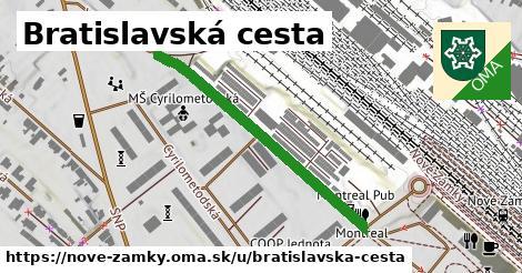 ilustrácia k Bratislavská cesta, Nové Zámky - 0,71km