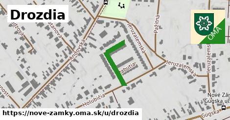 ilustrácia k Drozdia, Nové Zámky - 193m