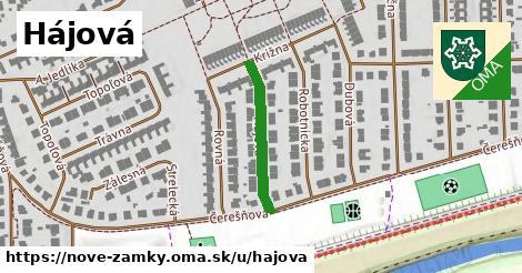 ilustrácia k Hájová, Nové Zámky - 223m