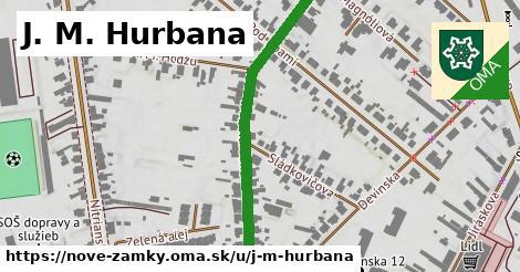 ilustračný obrázok k J. M. Hurbana, Nové Zámky