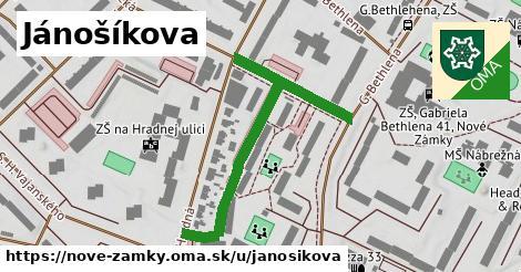 ilustrácia k Jánošíkova, Nové Zámky - 488m