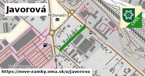 ilustrácia k Javorová, Nové Zámky - 183m