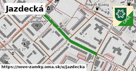 ilustrácia k Jazdecká, Nové Zámky - 389m