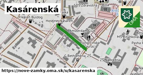 ilustrácia k Kasárenská, Nové Zámky - 198m