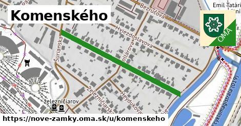 ilustrácia k Komenského, Nové Zámky - 418m