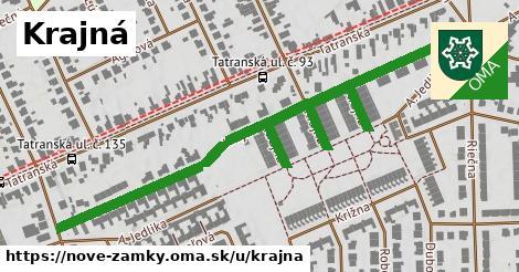 ilustrácia k Krajná, Nové Zámky - 603m