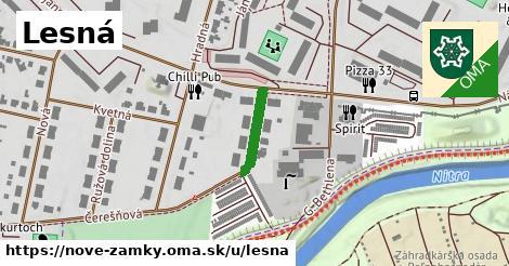 ilustrácia k Lesná, Nové Zámky - 131m