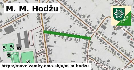ilustračný obrázok k M. M. Hodžu, Nové Zámky