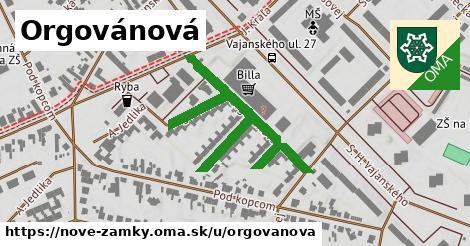 ilustrácia k Orgovánová, Nové Zámky - 551m