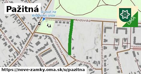 ilustrácia k Pažitná, Nové Zámky - 190m