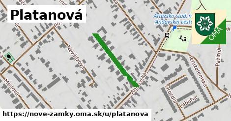ilustrácia k Platanová, Nové Zámky - 221m