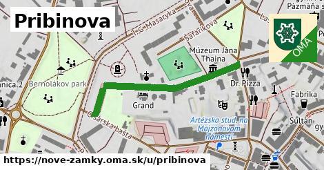 ilustrácia k Pribinova, Nové Zámky - 394m