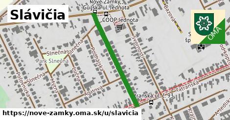 ilustrácia k Slávičia, Nové Zámky - 334m