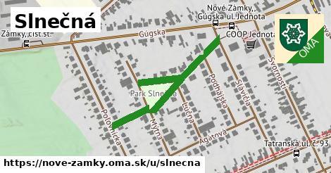 ilustrácia k Slnečná, Nové Zámky - 419m