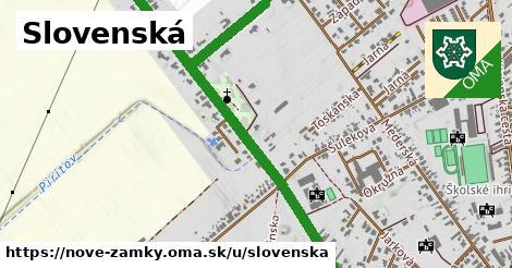 ilustračný obrázok k Slovenská, Nové Zámky