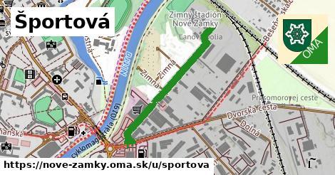 ilustrácia k Športová, Nové Zámky - 0,71km