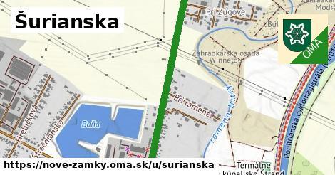 ilustrácia k Šurianska, Nové Zámky - 2,0km