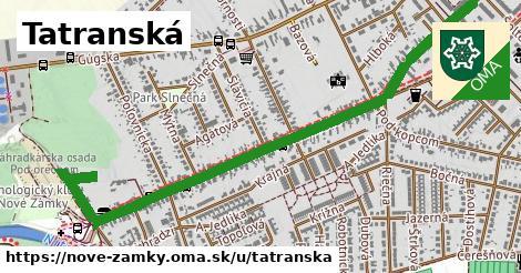 ilustrácia k Tatranská, Nové Zámky - 1,60km
