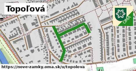 ilustrácia k Topoľová, Nové Zámky - 423m