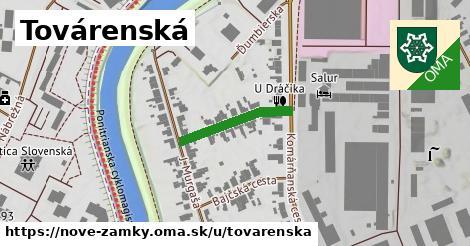 ilustrácia k Továrenská, Nové Zámky - 189m