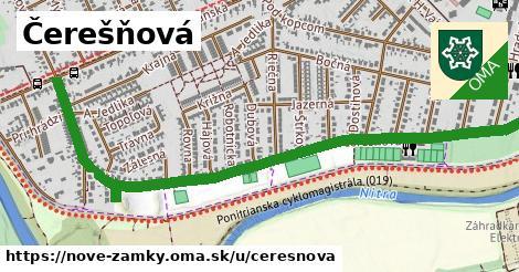 ilustrácia k Čerešňová, Nové Zámky - 1,72km