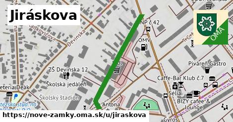 Jiráskova, Nové Zámky