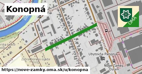ilustrácia k Konopná, Nové Zámky - 303m