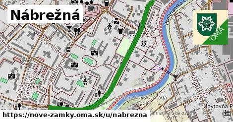 ilustrácia k Nábrežná, Nové Zámky - 1,28km