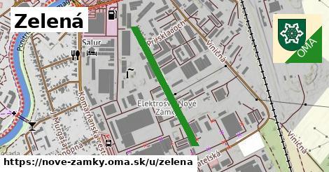 ilustrácia k Zelená, Nové Zámky - 612m