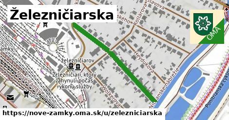 ilustrácia k Železničiarska, Nové Zámky - 378m