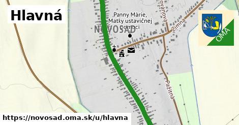 ilustrácia k Hlavná, Novosad - 550m