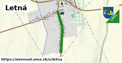 ilustrácia k Letná, Novosad - 529m