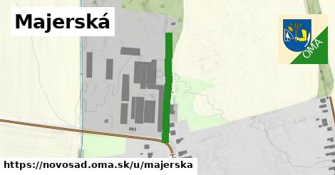 ilustrácia k Majerská, Novosad - 271m