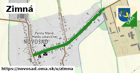 ilustrácia k Zimná, Novosad - 0,93km