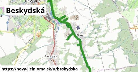 ilustrácia k Beskydská, Nový Jičín - 5,1km