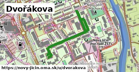 ilustrácia k Dvořákova, Nový Jičín - 534m