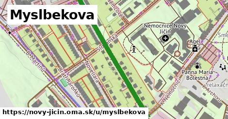 ilustrácia k Myslbekova, Nový Jičín - 424m