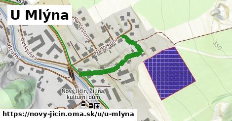 ilustrácia k U Mlýna, Nový Jičín - 297m