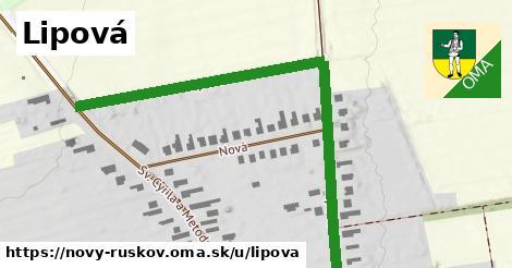ilustrácia k Lipová, Nový Ruskov - 0,78km