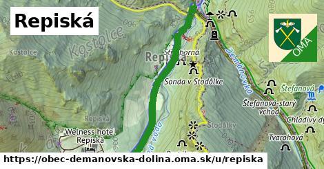 ilustrácia k Repiská, obec Demänovská Dolina - 1,22km