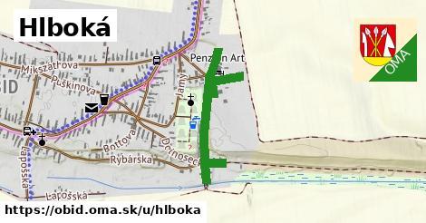 ilustrácia k Hlboká, Obid - 656m
