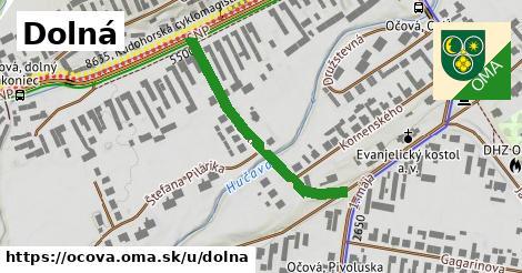 ilustrácia k Dolná, Očová - 337m