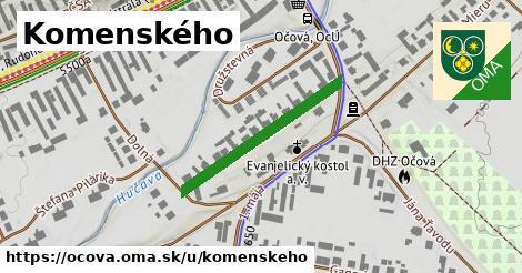 ilustrácia k Komenského, Očová - 276m