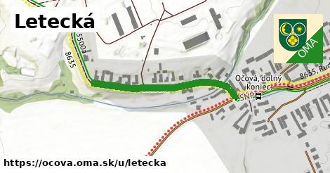 ilustrácia k Letecká, Očová - 343m