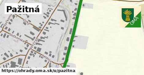 ilustrácia k Pažitná, Ohrady - 436m
