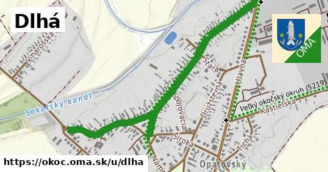 ilustrácia k Dlhá, Okoč - 1,25km