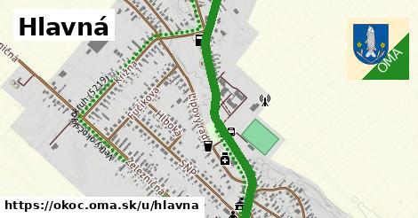ilustrácia k Hlavná, Okoč - 3,7km