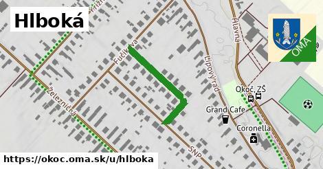 ilustrácia k Hlboká, Okoč - 249m